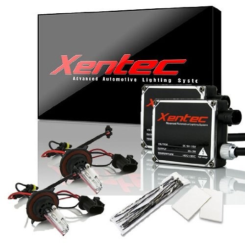 XENTEC H13/9008 6000K Hi/Lo HID Conversion Kit w/ Hi-beam Halogen (Ultra White)