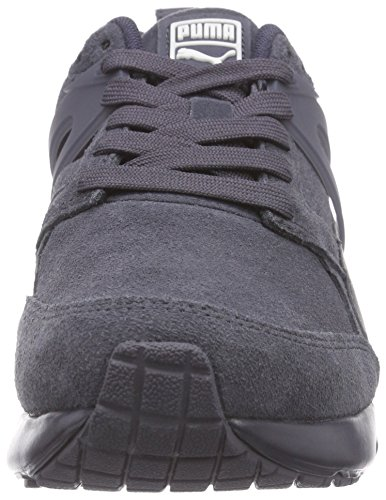 Puma Aril Suede, Unisex Adults' Low-Top Sneakers Blue (Periscope-marshmallow 02)