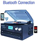 Boytone BT-29B, Bluetooth Dual CD Player and Recorder CD2 to CD1, AM/FM Radio