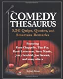 Comedy Thesarus, Judy Brown, 1594740585