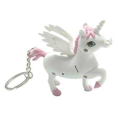 Switty unicornio Llavero del LED luz de la antorcha con el ...