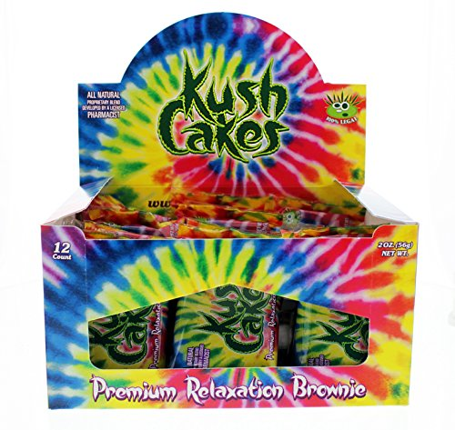 Kush Cakes   The Premium Relaxation Brownie