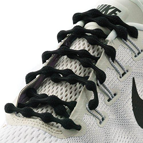 Caterpy Laces Ultimate No Tie Shoelaces (Jaguar (Eyelet Tie Shoe)