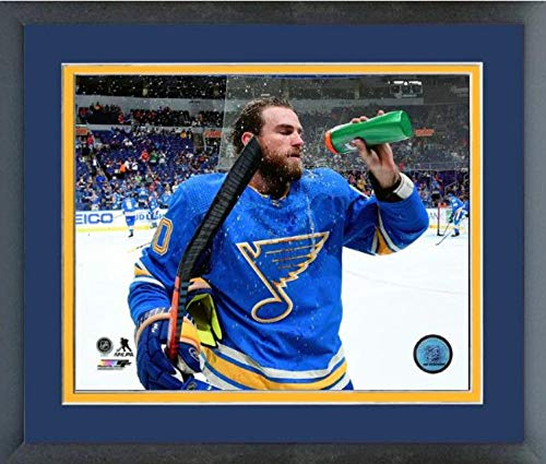 Ryan O'Reilly St. Louis Blues 2018-2019 NHL Action Photo (Size: 13