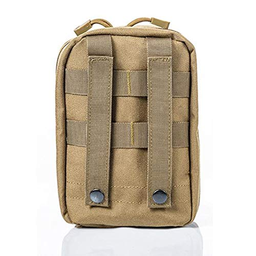 Yuan Ou Trousse de Secours Pouch Travel Green First Aid Kit Military Kit Medical Quick Pack 2