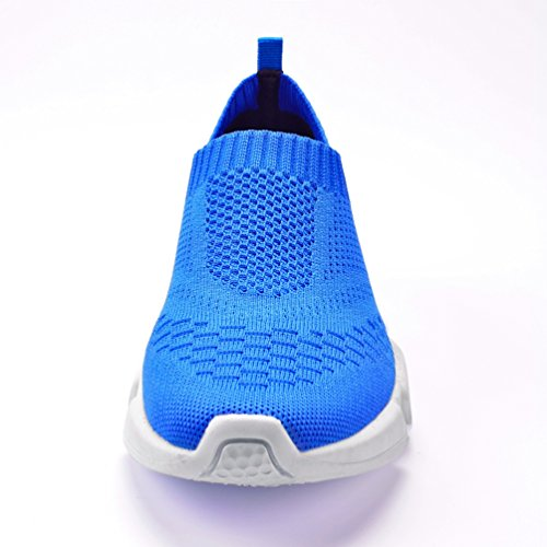 Azul Mujer Malla Zapatilla Baja de Qianliuk xnqP0XFw