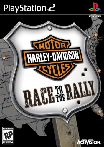 Harley-Davidson Race to the Rally - PlayStation 2 (Video Game Harley Davidson)