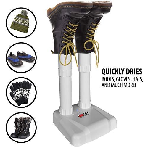 JobSite Original Boot Dryer - Noiseless Electric Dryer for Shoes, Gloves, Socks - Prevent Odor, Mold & Bacteria (6 pack) by JOB SITE (Image #2)