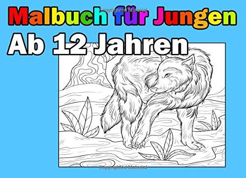 Download Malbuch Für Jungen Ab 12 Jahren: Spannende und Lustige Motive zum Ausmalen (German Edition) pdf
