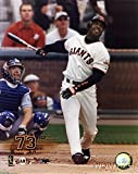 Barry Bonds Giants MLB Hologram 8x10 Color Glossy Photo #2 in Mint Condition This Great Looking Officially Licensed High Quality Collectible Photo comes in a BCW Acrylic Protective Top Loader!
