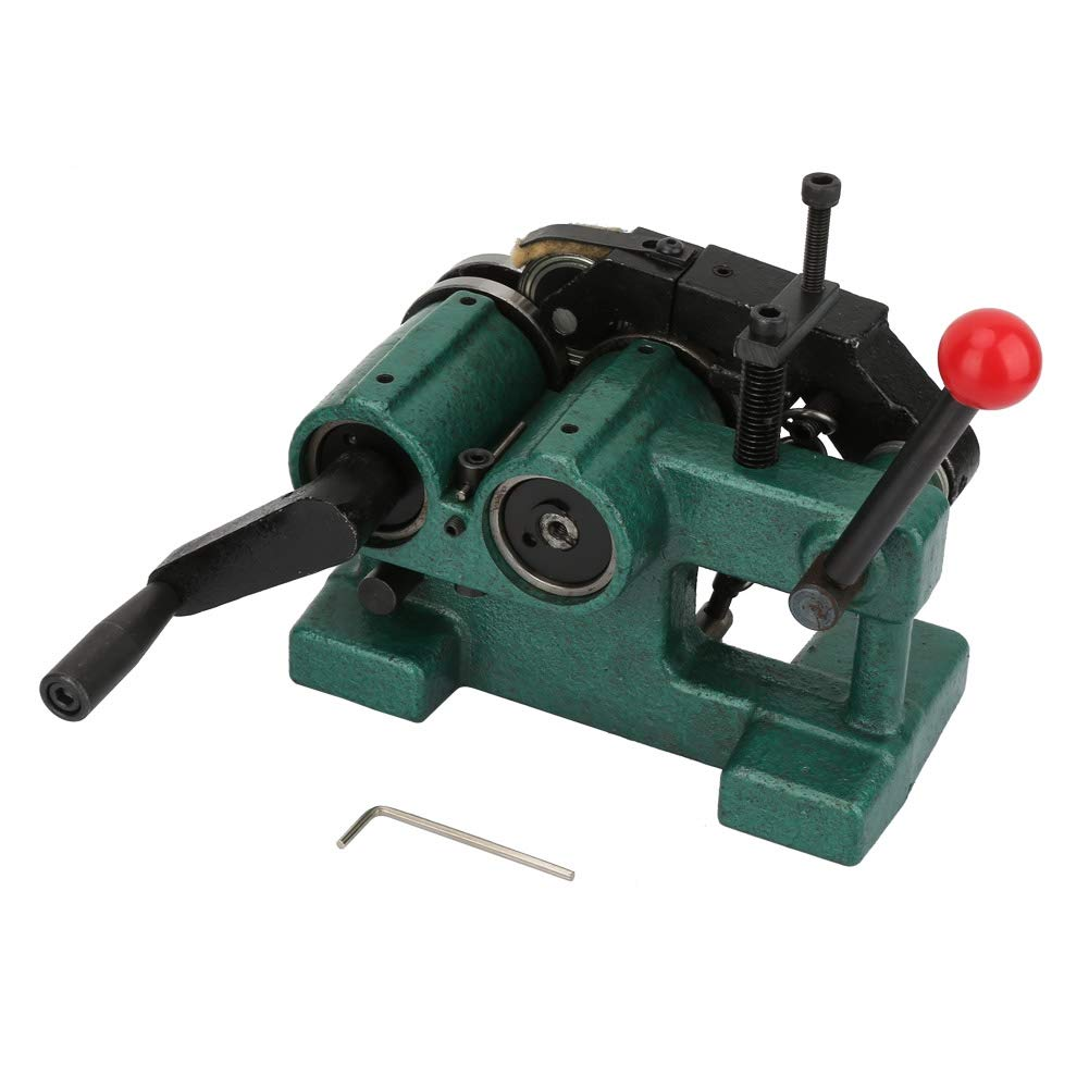 Acogedor Punch Grinder with Pressing Roller, Manual Punch Grinding Machine Precision 5um Punch Grinder,High Precision,Double Roller Design,with Plastic Box