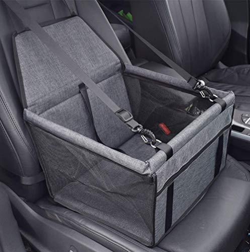 VORRINC Hunde Autositz für Hunde, Hundebox Auto Sitzerhöhung für Hunde,Wasserdicht Faltbar Atmungsaktiv Haustier…