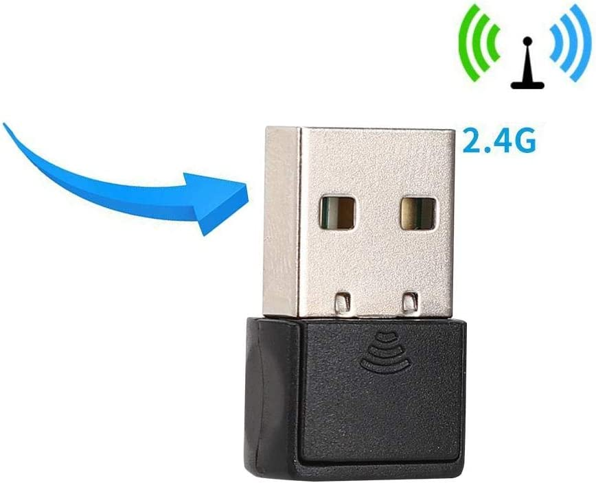 2.4-2.4835 GHz Network Card Wireless WiFi Receiver Mini USB Network Card for PC USB Network Card for Windows Vista//XP // 7 // Linux//Mac Bewinner Mini USB2.0 Wireless Network Card Adapter