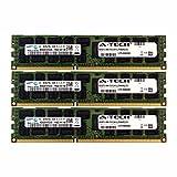 A-Tech Samsung 24GB Kit 3x 8GB PC3-10600 1.35V HP ProLiant BL620C G7 664690-001 BL660c G8 BL680C G7 BL685C G7 DL1000 647650-071 DL160 G6 DL360 G7 SL160Z G6 DL160 G8 500205-071 DL165 G7 Memory RAM