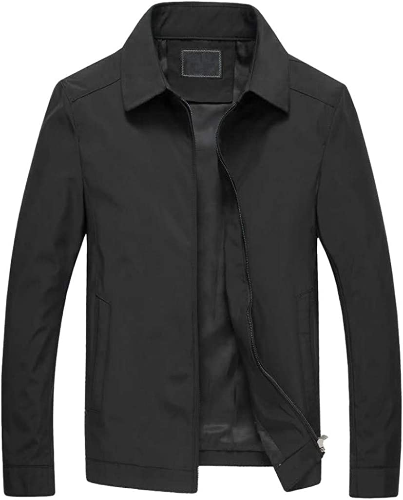 iLPM5 Manteau Automne Casual Trench Nouveau Mode Bleu Thin Noir Long Solide Couleur Garniture Outwear Turn-Down Col Manteau Portant Tous Les Jours Grand Cadeau