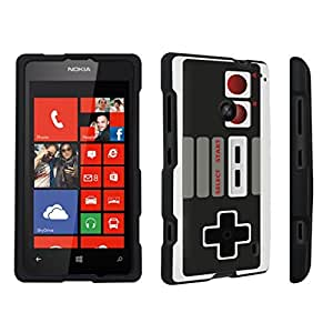 DuroCase ? Nokia Lumia 520 Hard Case Black - (Game Controller)