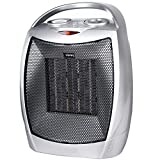 Cheap Minetom Ceramic Portable Space Heater Personal Electric Heater with Adjustable Thermostat 750W/1500W ETL Listed Quiet Heater with Overheat Protection Perfect for Home Office Kitchen Bedroom and Dorm