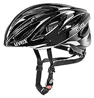 Uvex Boss Race Fahrrad Helm 2014, Gr. S-L (55-60cm), black (schwarz) 4102201317