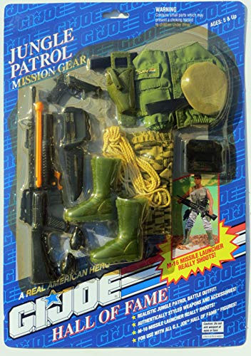 Joe Gi Gear Mission (GI Joe Hall of Fame Jungle Patrol Mission Gear)