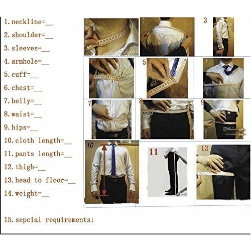 bc949668e31 low-cost Yanlu Royal Blue Mens Wedding Suits 3 Pieces Formal Suit For Men