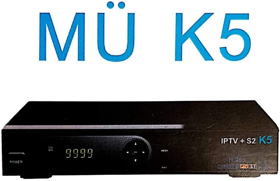 Receptor Satelite MÜ K5 IPTV + S2: Amazon.es: Electrónica