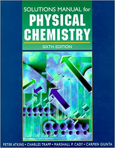 Physical chemistry solutions manual atkins 9780716731672 amazon physical chemistry solutions manual 6th edition fandeluxe Gallery
