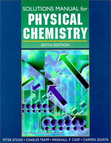 Physical Chemistry (Solutions Manual)