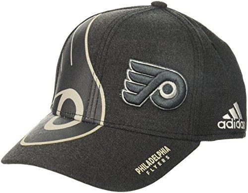 fan products of NHL Philadelphia Flyers Adult Men Pro Authentic T&T Structured Flex, Large/X-Large, Black