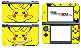 Pikachu Special Edition X Y Omega Ruby Alpha Sapphire Black and White Video Game Vinyl Decal Skin Sticker Cover for the New Nintendo 3DS XL LL 2015 System Console