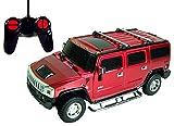 DX122429 Toycity R/C Hummer H2 Remote Control Die Cast Car Toy (COLOR: BLACK)