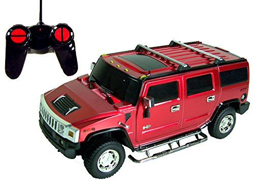 DX122429 Toycity R/C Hummer H2 Remote Control Die Cast Car Toy (COLOR: BLACK)