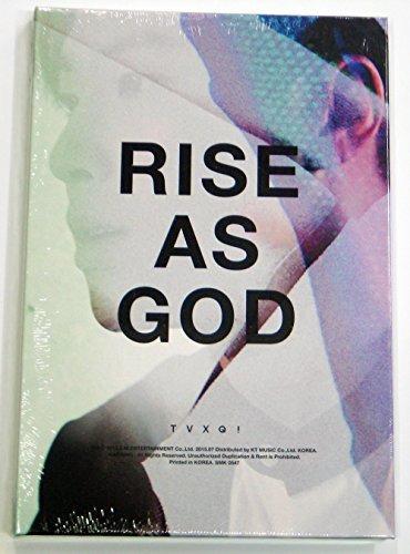 TVXQ DBSK - Rise as God (Special Album) Random CD with Extra Photocard Set