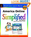America Online Simplified (Visual Read Less, Learn More)