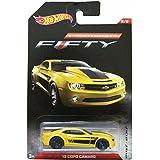 Hot Wheels - Camaro Fifty -13 Copo Camaro Toy Car - Yellow