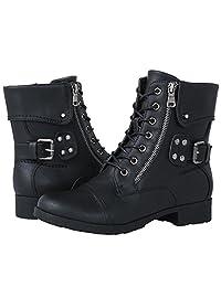 GLOBALWIN Women's 1822 Black Fashion Boots 9.5M