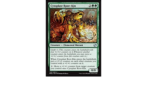 Magic: the Gathering - Cytoplast Root-Kin (143/249) - Modern Masters 2015 - Foil by Magic: the Gathering: Amazon.es: Juguetes y juegos