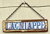 Lagniappe New Orleans Street Tile Sign