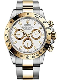 Daytona Grey Chronograph Steel And Yellow Gold Mens Watch 116523GYSO