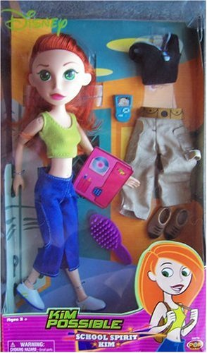 Kim Possible School Spirit Doll & 2 -