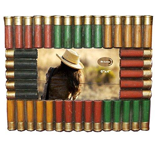 LL Home 12963 Shot Gun Shell 6x4 Photo Frame (Holder Gun Frame Picture)