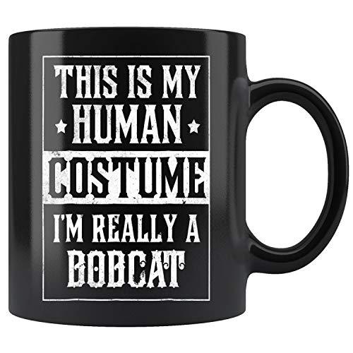 BOBCAT Halloween Costume Funny Easy for Kids Adults Mug Coffee Mug 11oz Gift Tea Cups 11oz