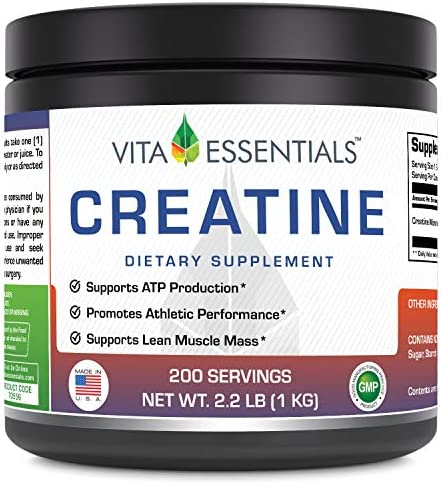 Vita Essentials Creatine Powder, 2.2 Pound