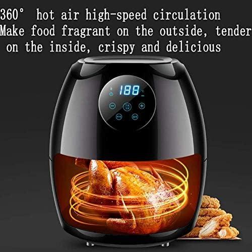 weiwei Friteuse à air 3,5 L écran Tactile numérique LCD et Panier détachable antiadhésif friteuse à air électrique Domestique à Grande échelle 1270 W