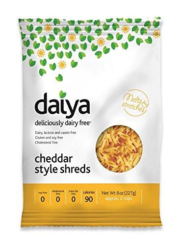 (Daiya Cheddar Style Shreds, 8 Ounce -- 12 per case.)