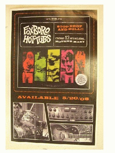 Foxboro Hot Tubs Poster Hottubs Stop Drop And Roll (Foxboro Hot Tubs Stop Drop And Roll)