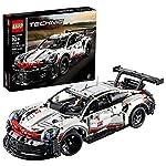 LEGO Technic Porsche 911 RSR 42096 Bauset, Neu 2019 (1580 Teile) LEGO