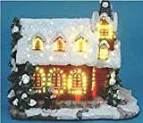 Santas Forest 64003 Church Tabletop Decoration Holiday Village