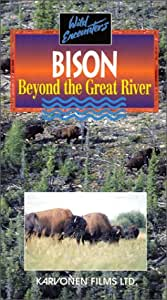 Bison:Beyond the Great River [VHS]