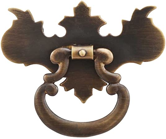 """Vintage Chippendale Style Brass Drawer Pulls 5 1//2/""""  L"""