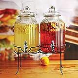 Circleware Sun Tea Mason Jar Double Glass